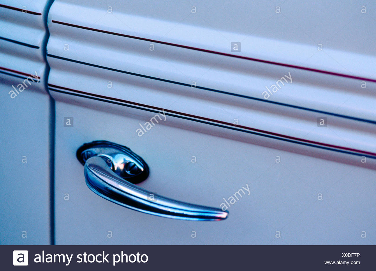 Antique car door handle - Antique Car Door Handle Stock Photo: 275663242 - Alamy