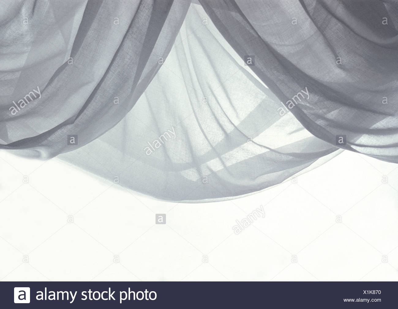 What is the name of type of translucent fabric?
