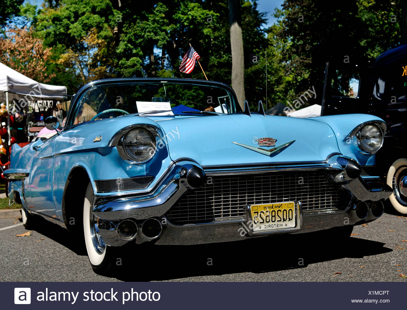 Cadillac At A Classic Car Show In Belvidere New Jersey USA - Car show usa