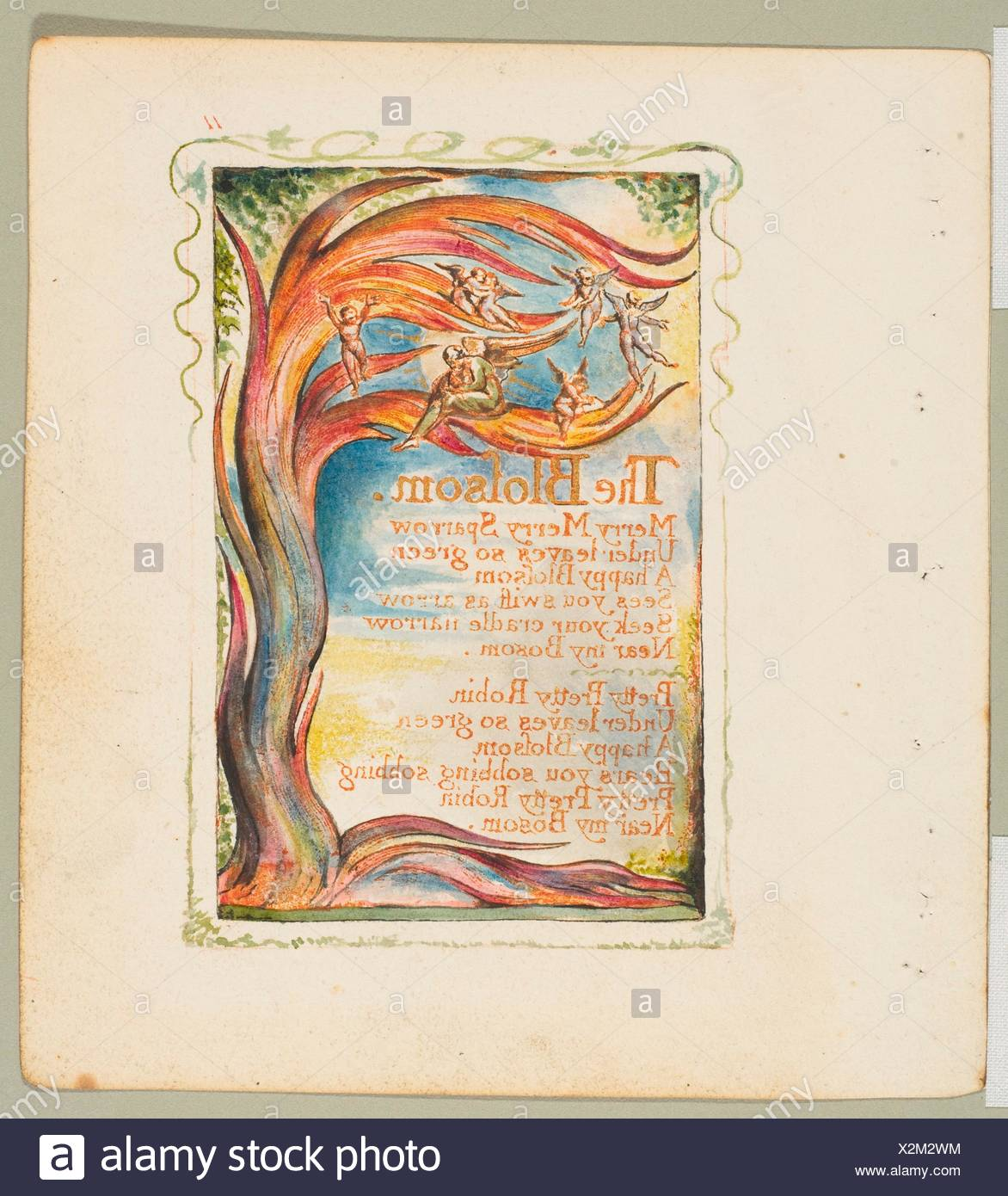 Songs of Innocence and of Experience: The Blossom: Merry Merry ...