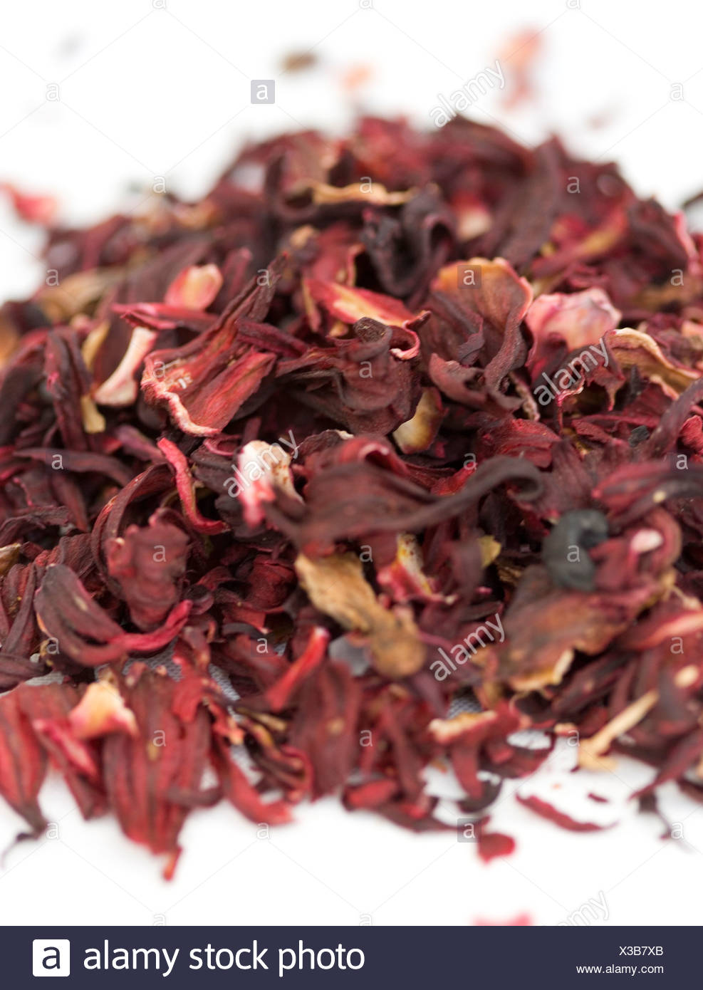 Dried Hibiscus Flowers Stock Photo 277457555 Alamy