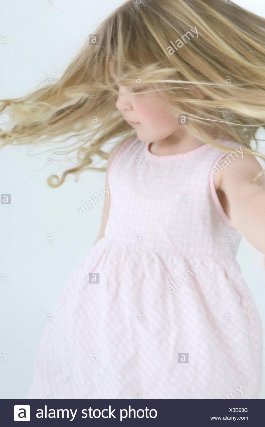 Little Girl Alone Dancing Stock Photos & Little Girl Alone Dancing ...