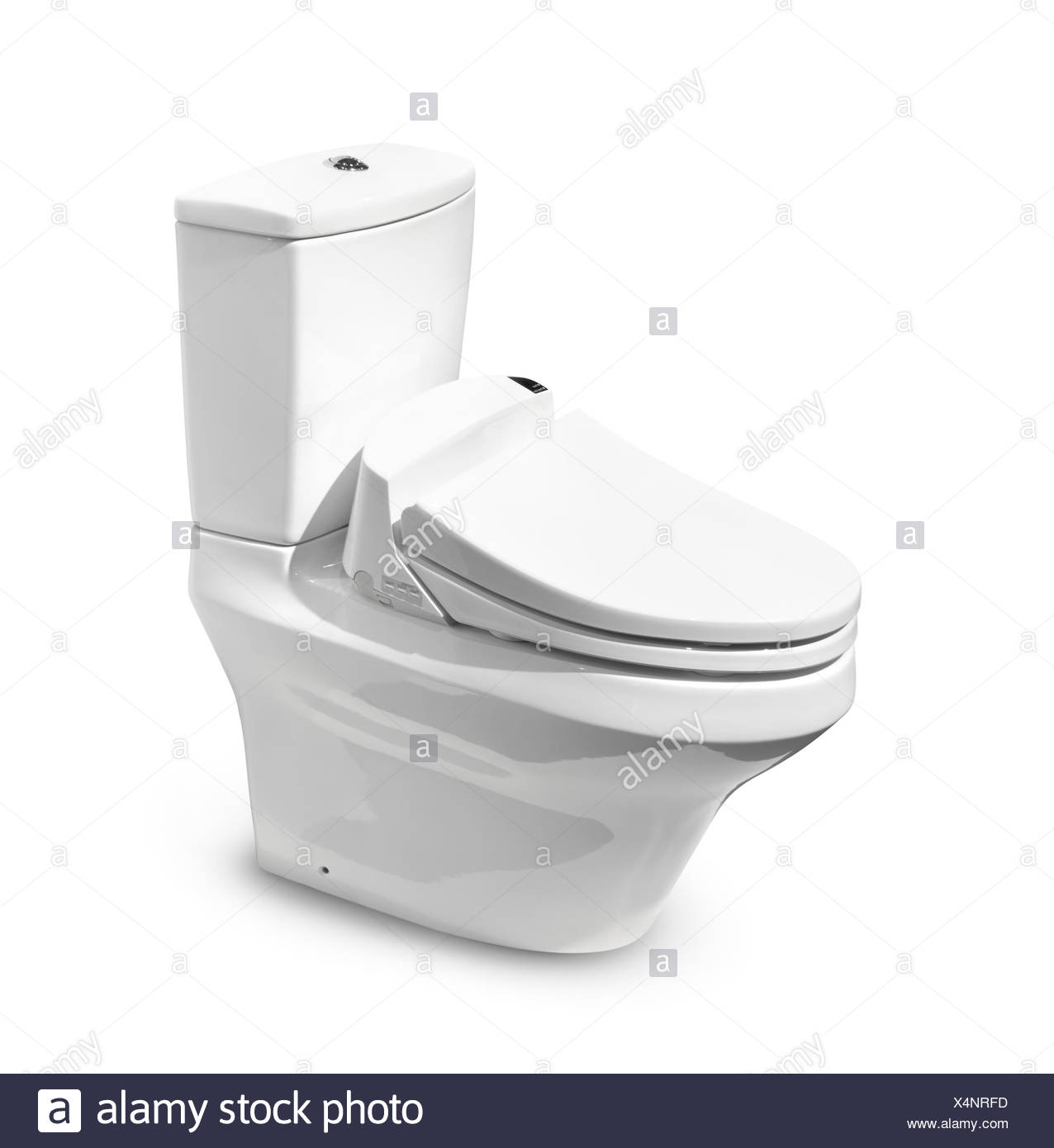 High-tech Toto toilet with Washlet seat Stock Photo: 278303969 - Alamy