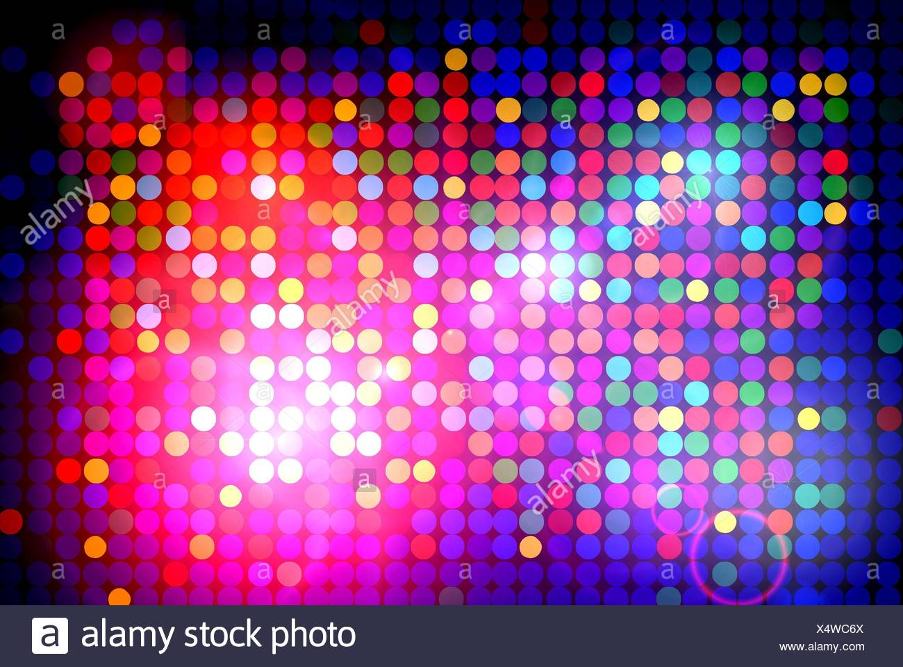 Disco Lights Radiate Abstract Backdrop Background Rays Lighting Illumination