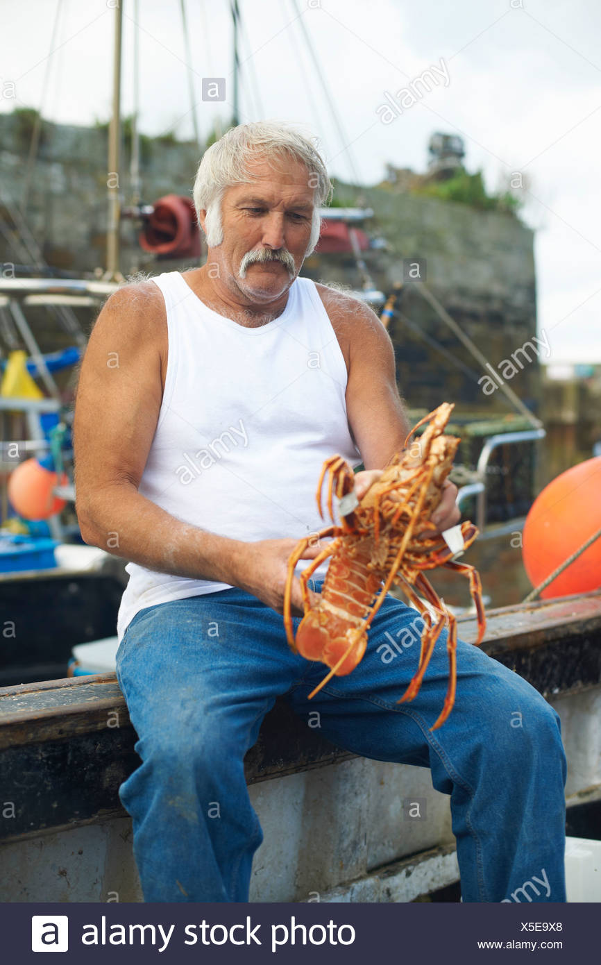 Lobster Man Stock Photos & Lobster Man Stock Images - Alamy