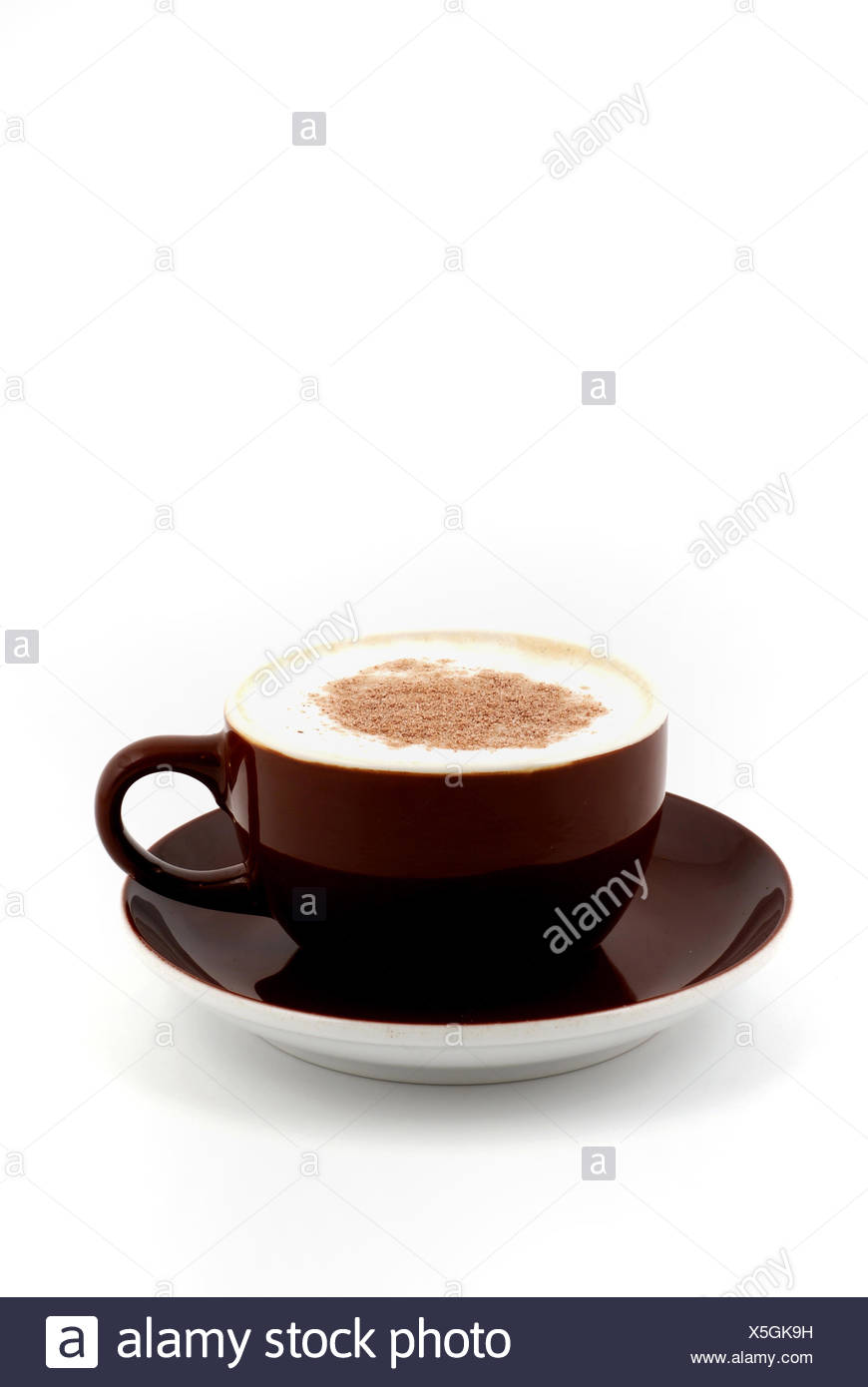 Tasse Kaffee Milch Stock Photos & Tasse Kaffee Milch Stock Images ...