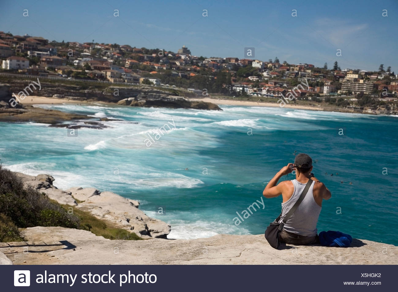 bondi near sydney stock photos bondi near