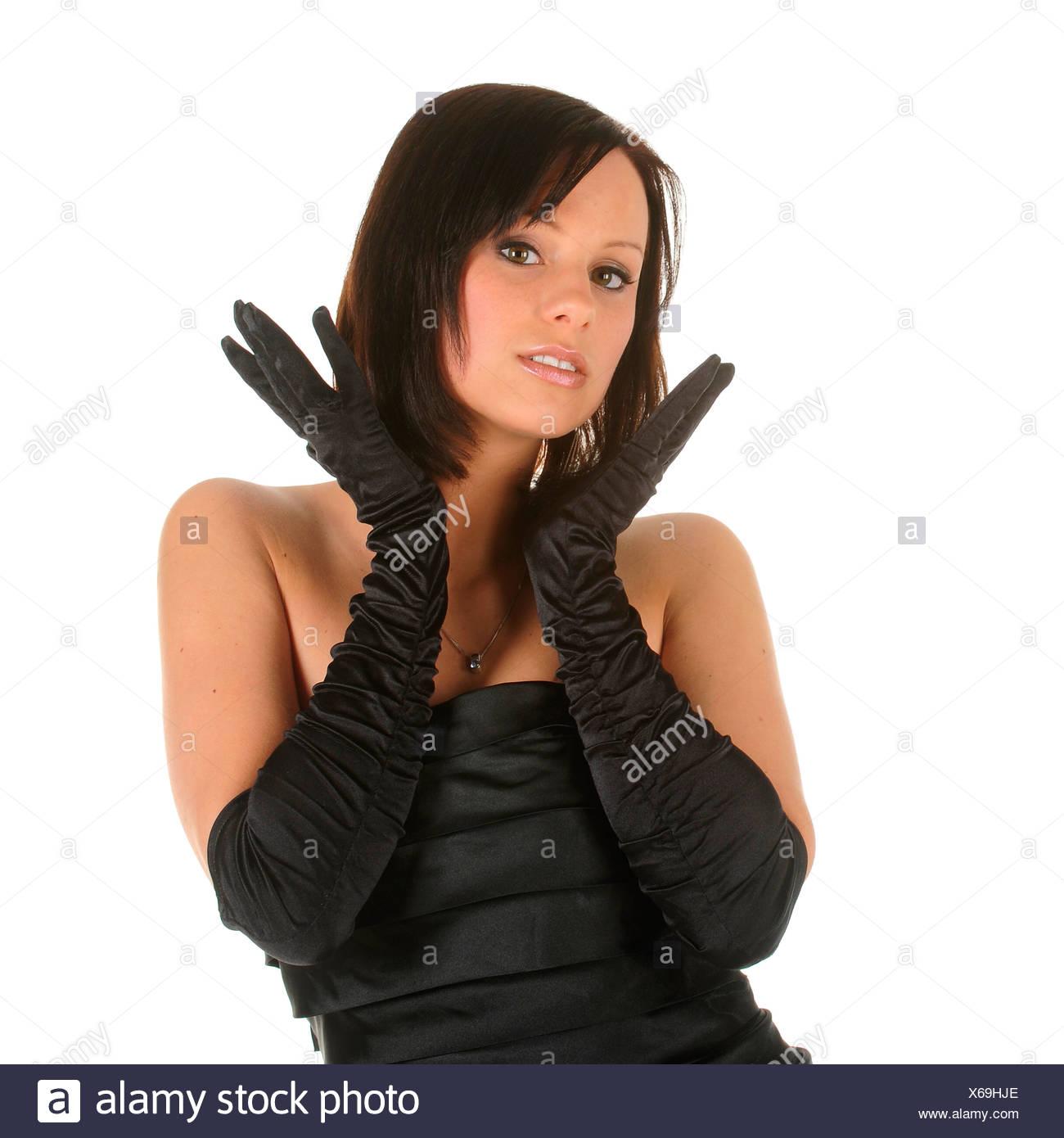Evening Dress Gloves Black