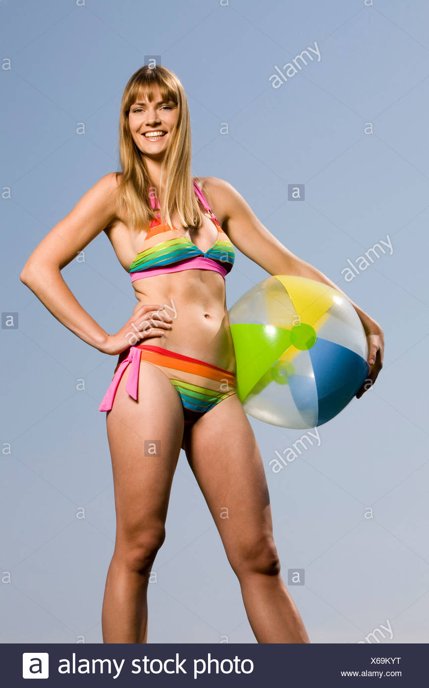Bikini beach ball