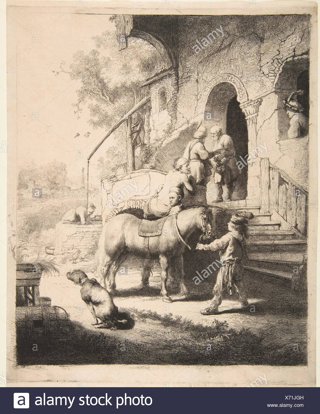Artist: Rembrandt (Rembrandt van Rijn) (Dutch, Leiden 1606-1669 Amsterdam);  Date: 1633; Medium: Etching, engraving and drypoint;