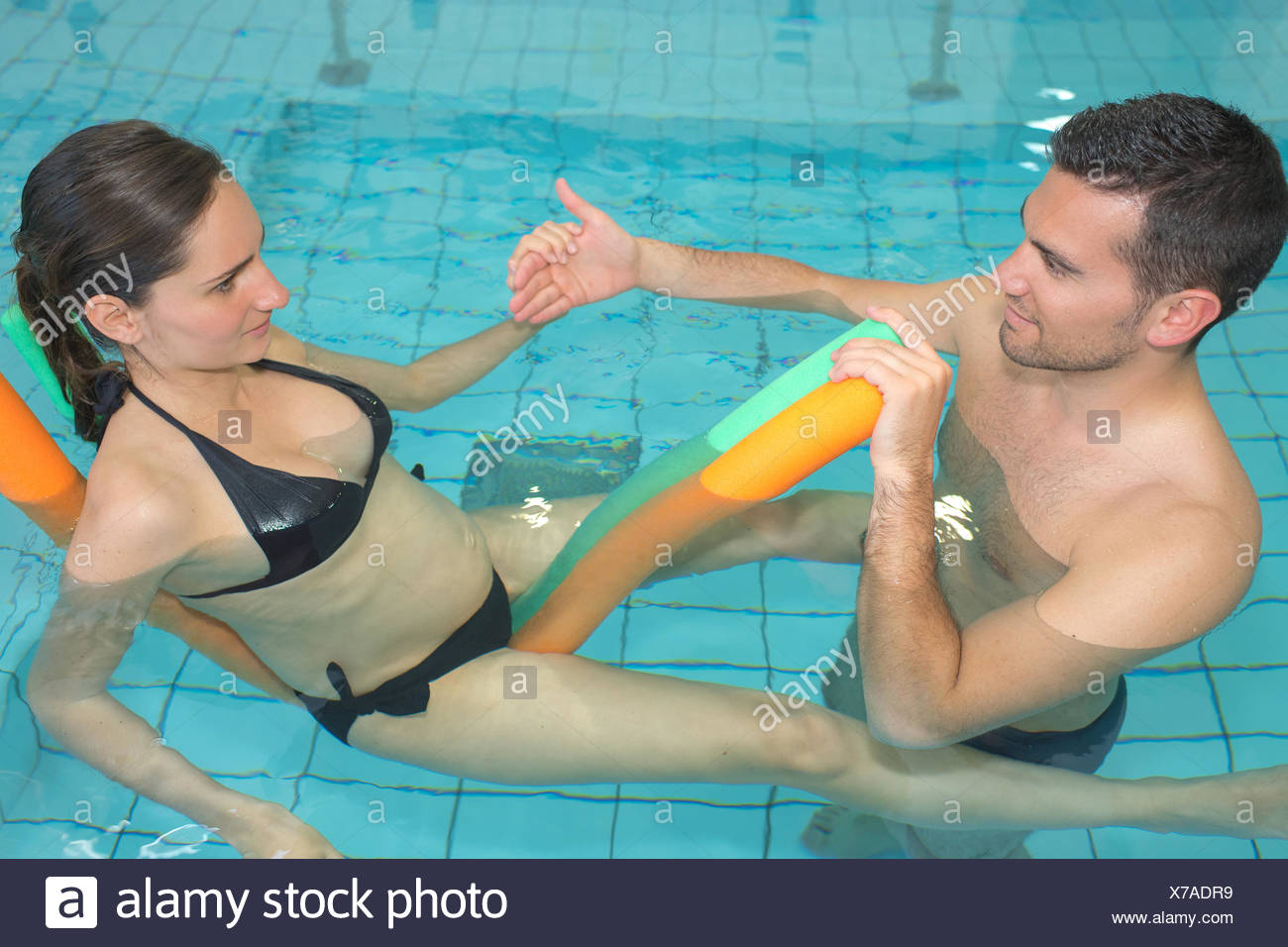 Swimming Wife
