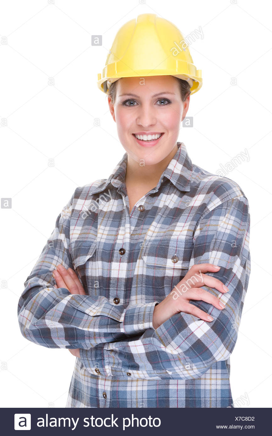 Bauarbeiterin Stock Photo 279938542 Alamy