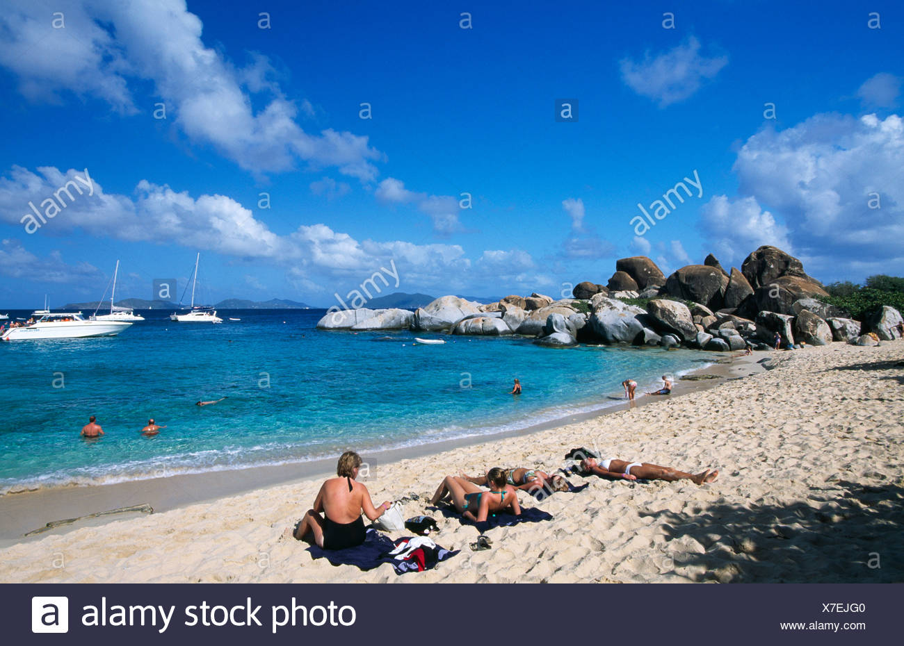 British Virgin Island Desert
