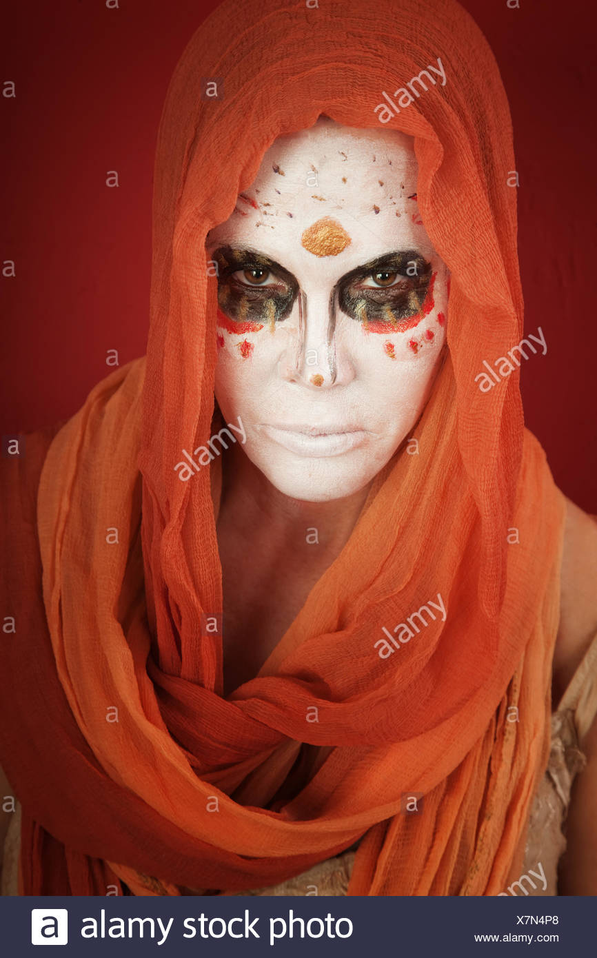 woman women lady ghost mad crazy makeup holy sacred girl girls woman