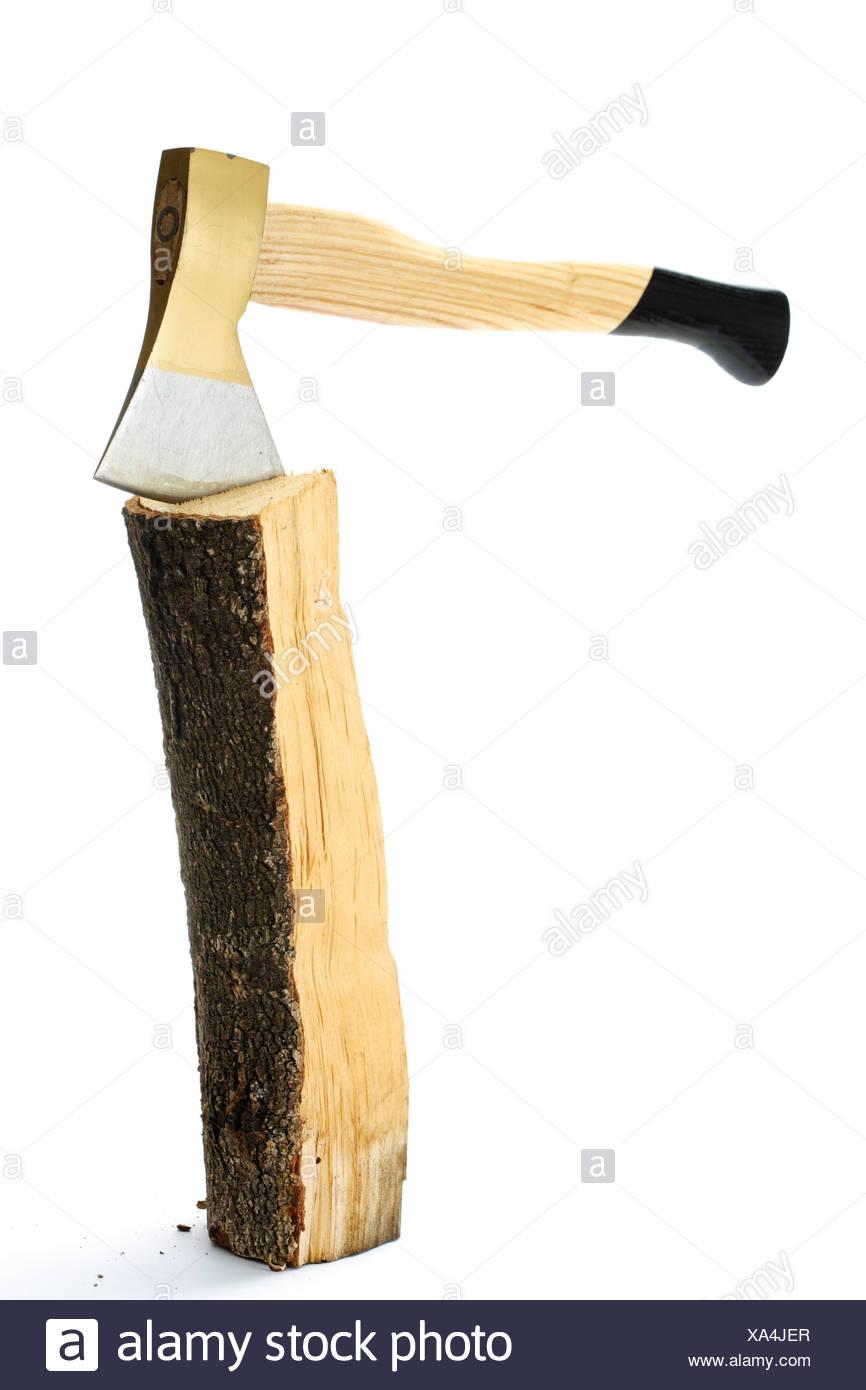 Firewood axe stock photos images alamy