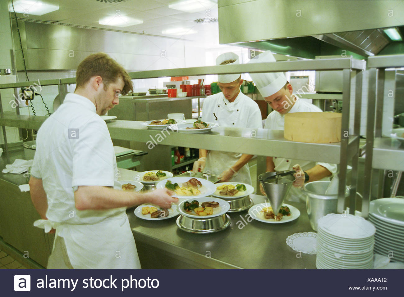 Chefs In Hotelkueche Berlin Stock Photo 281739838 Alamy