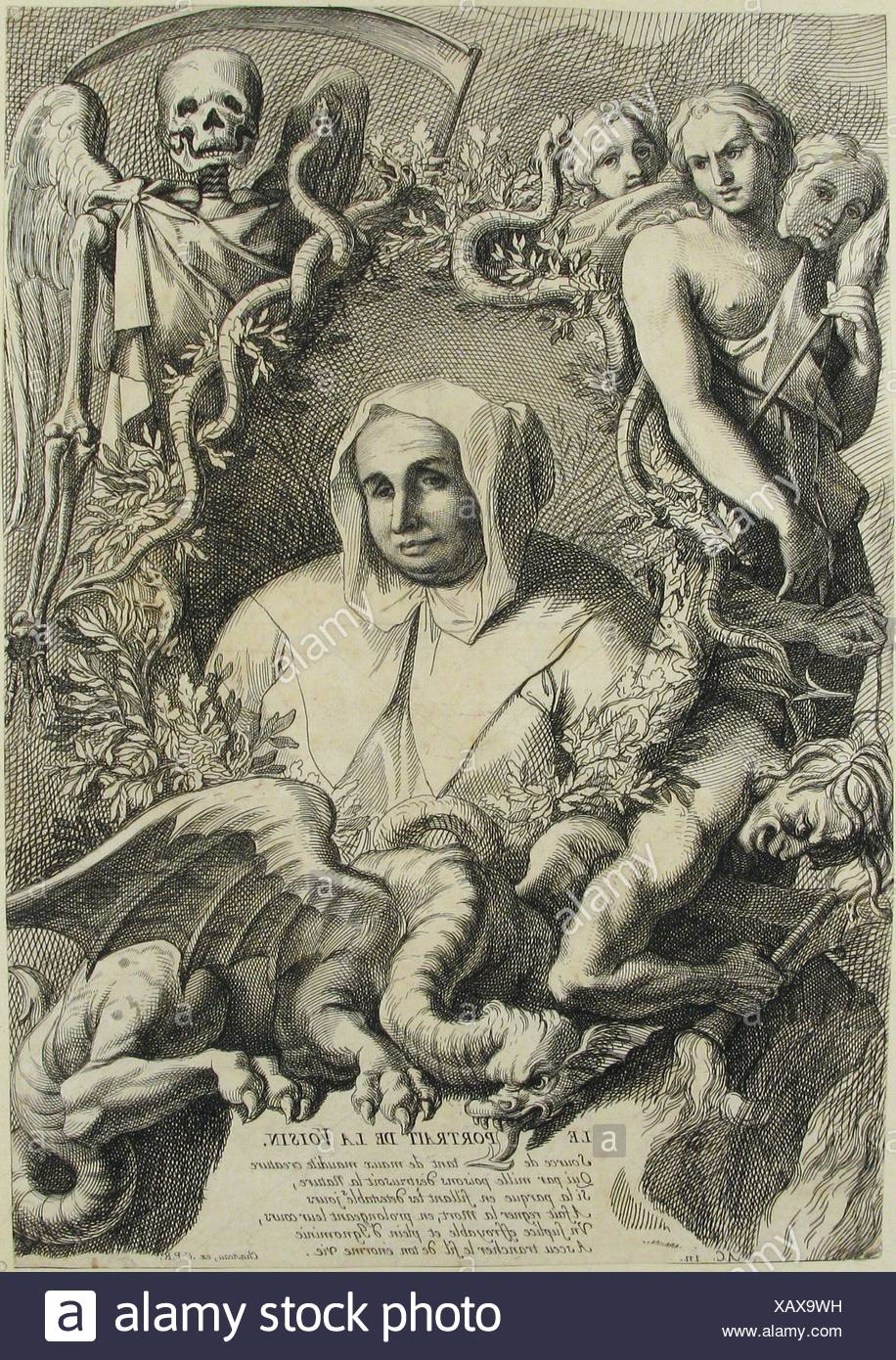 Artist: Antoine Coypel (French, Paris 1661-1722 Paris); Date: n.d; Medium:  Etching; Dimensions: sheet: 15 9/16 x 10 15/16 in.