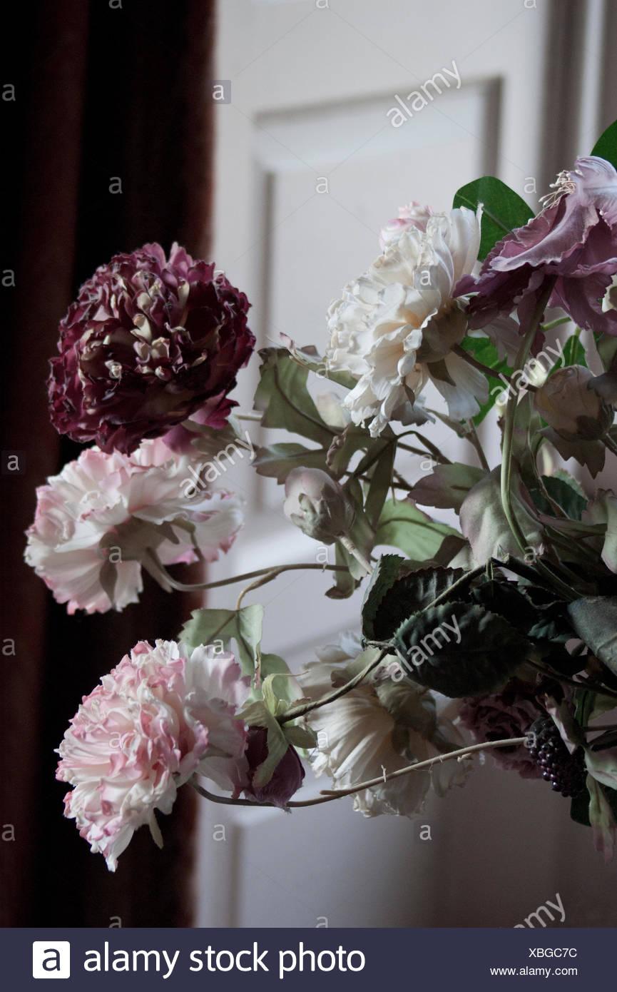Old Silk Flowers Stock Photo 282487952 Alamy
