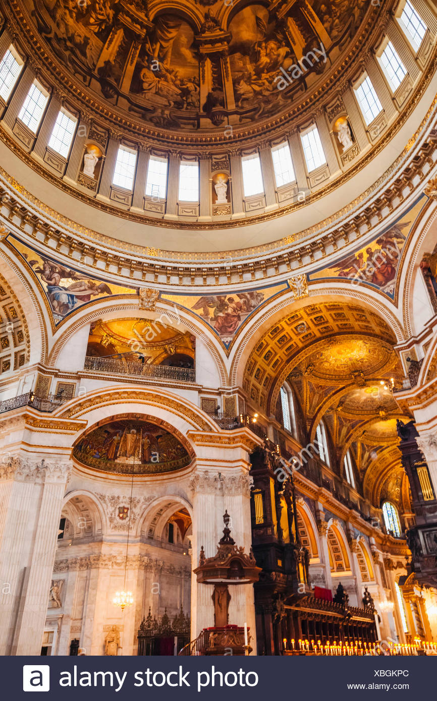 St Paul S Cathedral Harry Potter Staircase : St pauls cathedral london interior stock photos