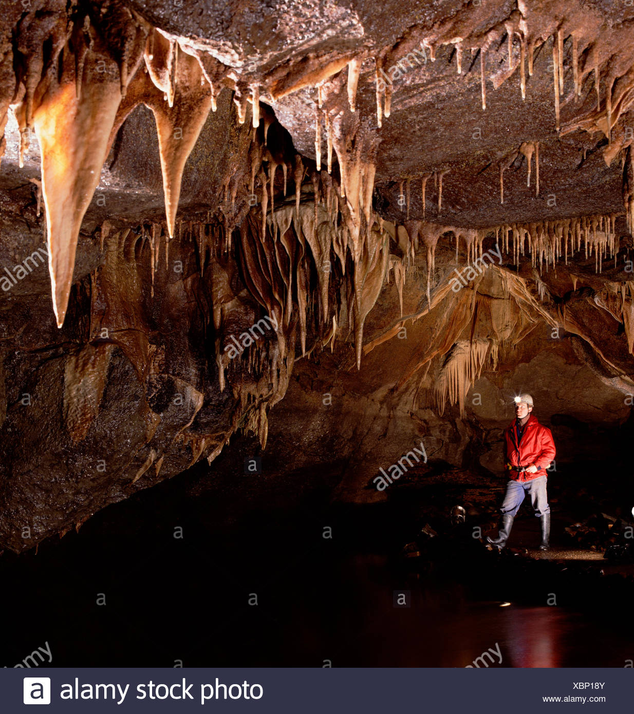 Man Caves Northern Ireland : Fermanagh caves stock photos