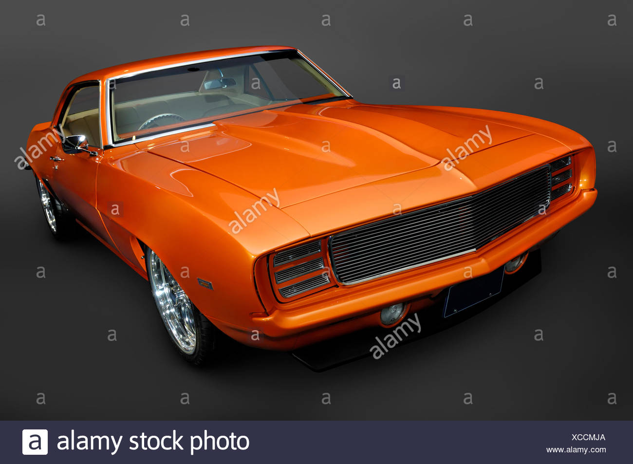 1969 Chevrolet Camaro Rs Ss Classic Vintage Muscle Car Stock Photo