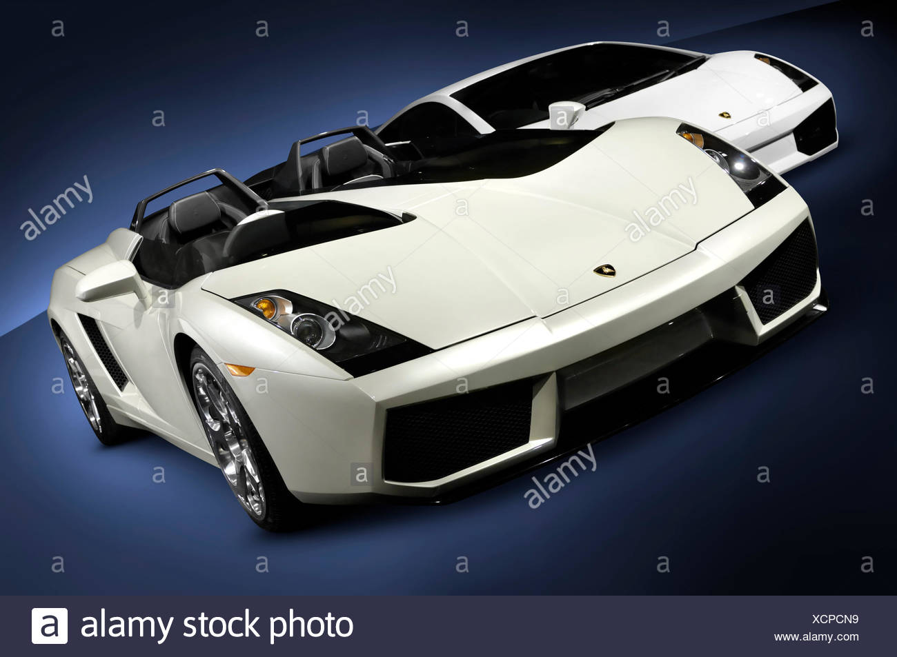 lamborghini super cars 2005 concept s and 2007 gallardo superleggera