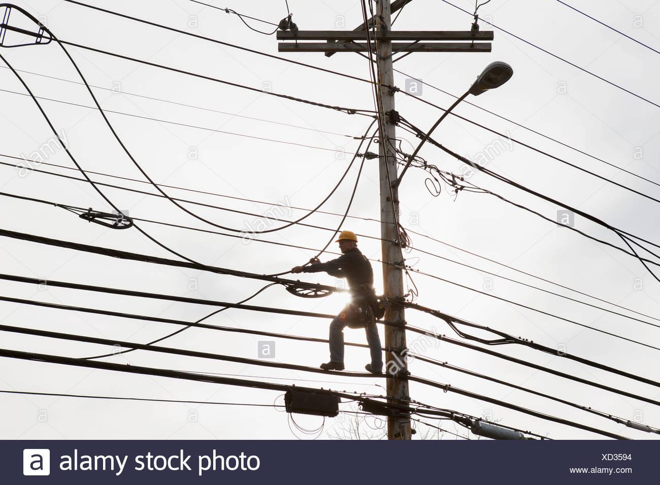 Cable Bundles Stock Photos & Cable Bundles Stock Images - Alamy