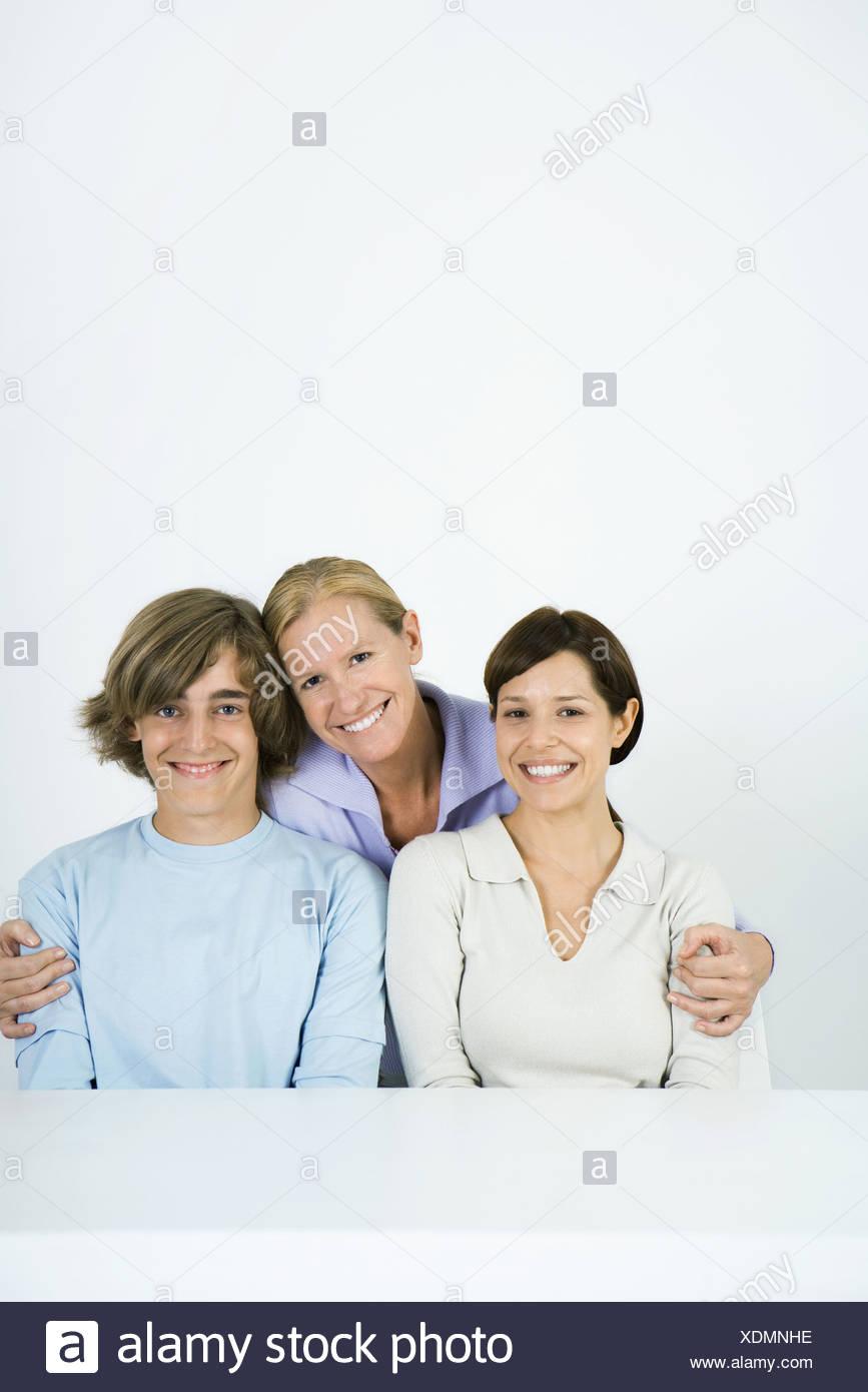 Mature women and teen