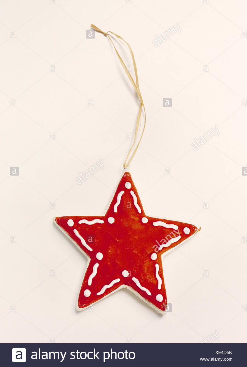 christmas tree decorations christmas decoration decoration object manual labour hand made red white ornamentally still life studio cut out - Cut Out Christmas Decorations