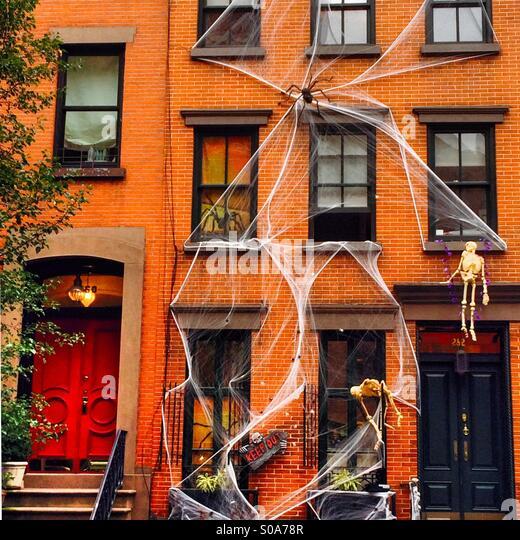 Halloween new york stock photos halloween new york stock for Decoration new york