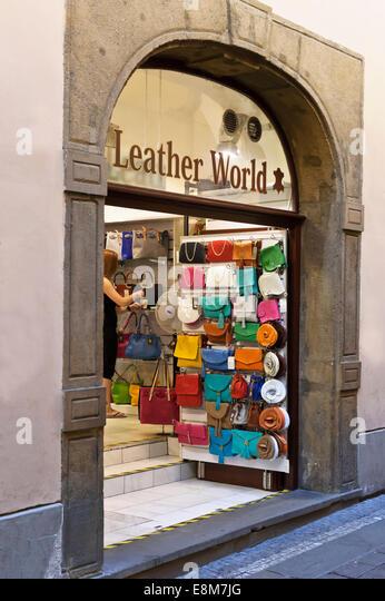 Ladies Leather Handbags Stock Photos & Ladies Leather Handbags ...