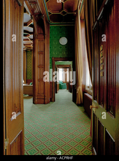 Refurbished Offices At The Palace Of Westminster   The Houses Of Parliament    Stock Image