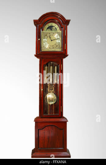 Wall Hanging Grandfather Clock grandfather clock clock stock photos & grandfather clock clock