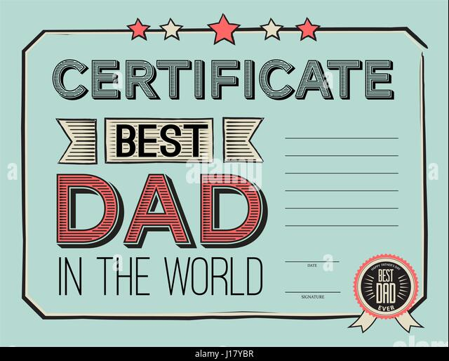 Template Certificate Congratulations Vector Illustration Stock