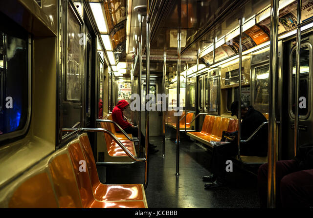 commuters subway car stock photos commuters subway car stock images alamy. Black Bedroom Furniture Sets. Home Design Ideas