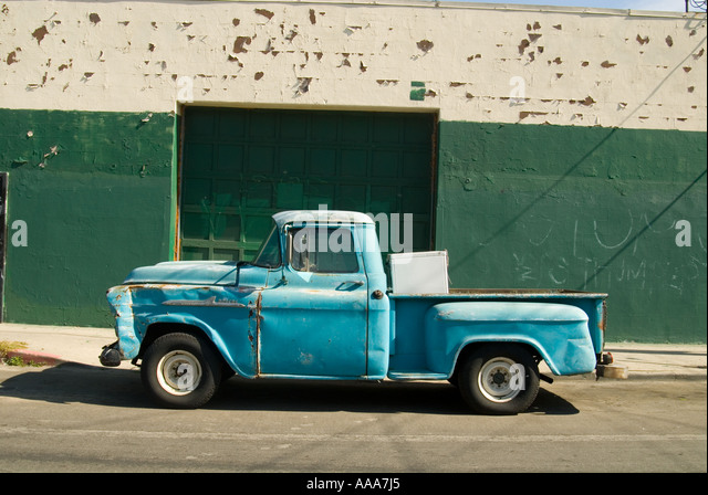 Blue Pickup Truck Stock Photos Amp Blue Pickup Truck Stock Images Alamy