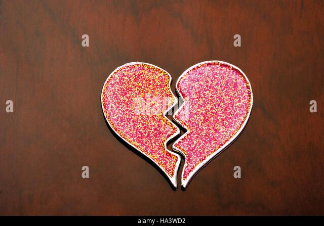 Broken Heart Symbols Stock Photos & Broken Heart Symbols Stock ...