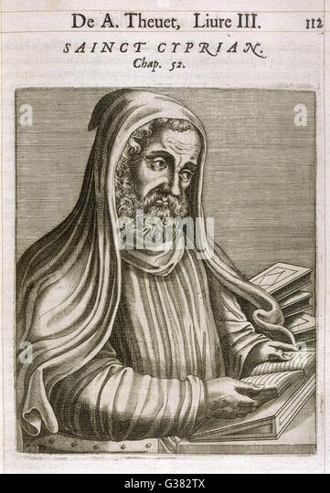 cyprian of carthage Cyprian cyprian (ca 200 - 258), also known as cyprian of carthage, was bishop of carthage and one of the major theologians of the early north african church he was born in north africa, perhaps at carthage, where he.