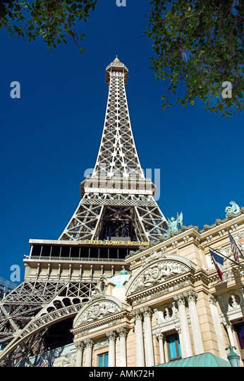 Eiffel Tower Restaurant Las Vegas Stock Photos Eiffel Tower Restaurant