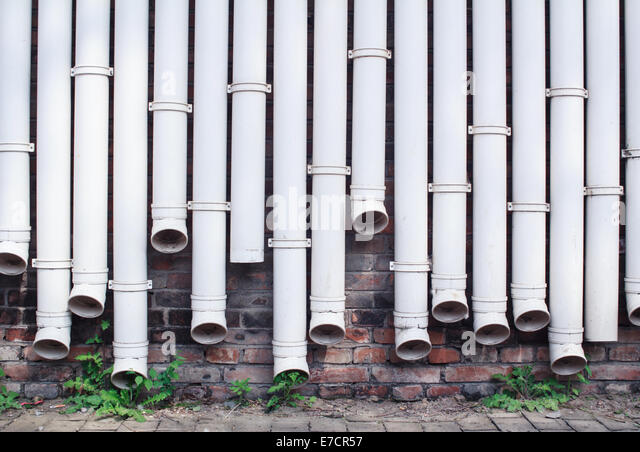 House pipes cold stock photos house pipes cold stock for Water wall plumbing
