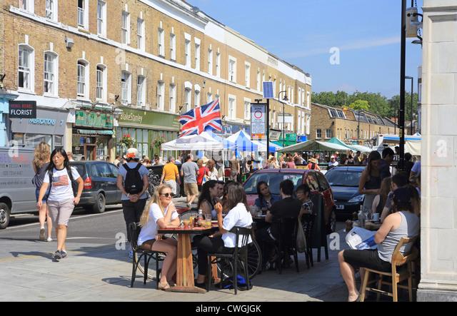 London Fields Restaurants Broadway Market