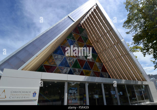 Shigeru ban stock photos shigeru ban stock images alamy for Christchurch architecture firms