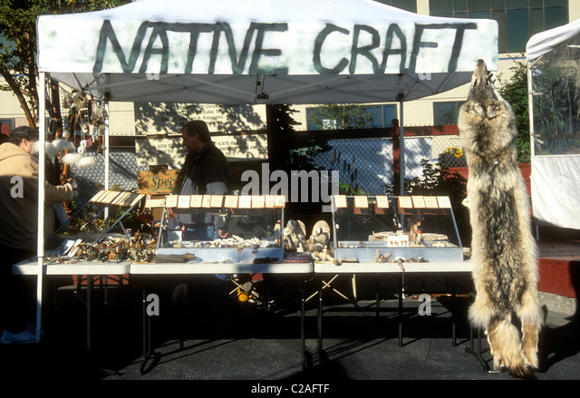 Anchorage market stock photos anchorage market stock for Native crafts for sale