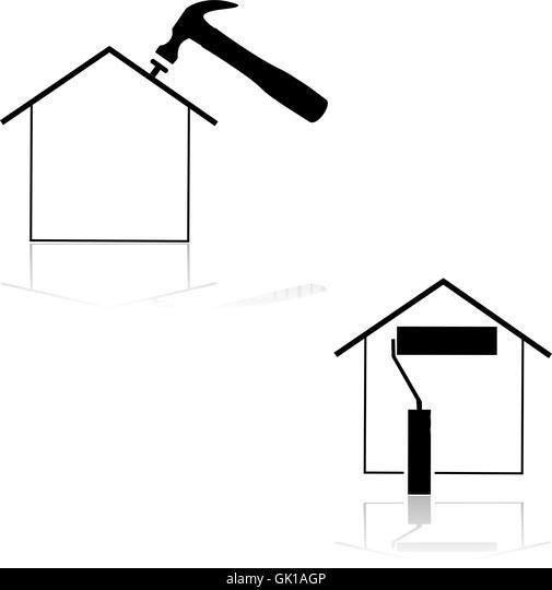 home renovation stock image