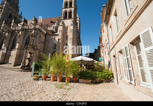 autun cathedral stock photos autun cathedral stock. Black Bedroom Furniture Sets. Home Design Ideas