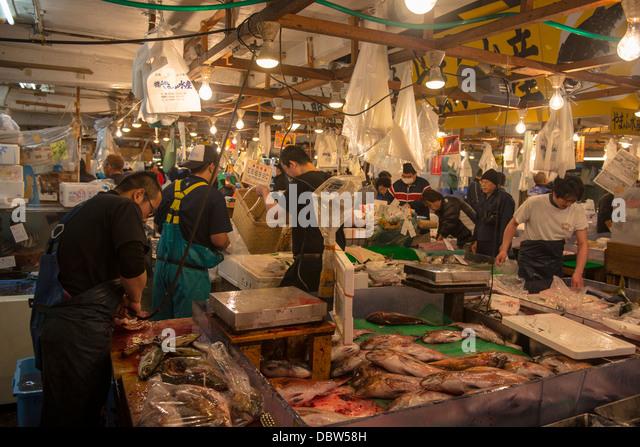 Japan fish market stock photos japan fish market stock for Japan fish market