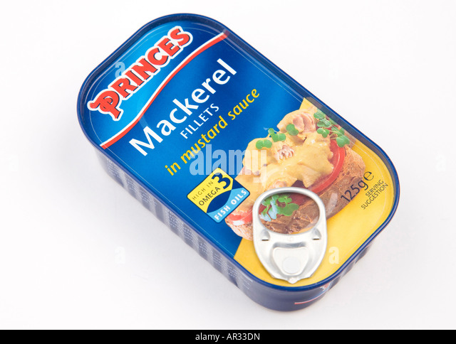 how to cook mackerel fillets from a tin