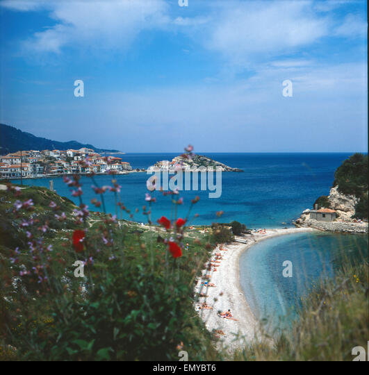 griechenland insel samos samos stadt stock photos griechenland insel samos samos stadt stock. Black Bedroom Furniture Sets. Home Design Ideas
