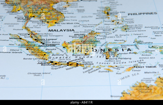 Map of indonesia stock photos map of indonesia stock images alamy map of indonesia stock image sciox Gallery