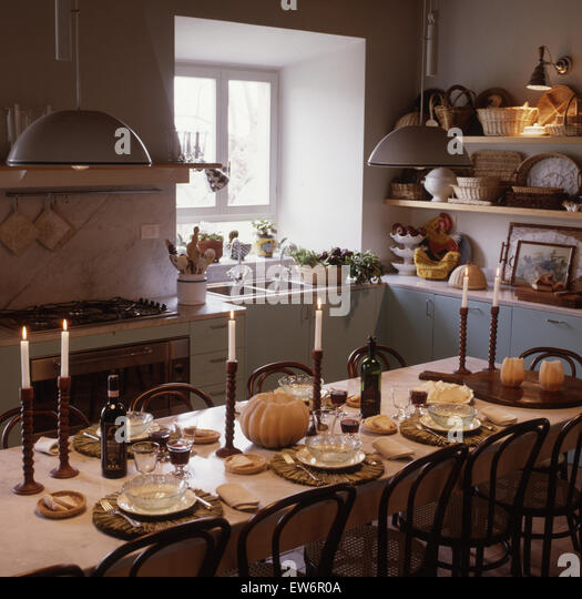 Bentwood table stock photos bentwood table stock images alamy - Scandinavian kitchen table ...